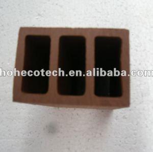 100% reciclado wpc alta qualidade ao ar livre pós esgrima( wpc pisos/painel de parede wpc/wpc produtos de lazer)