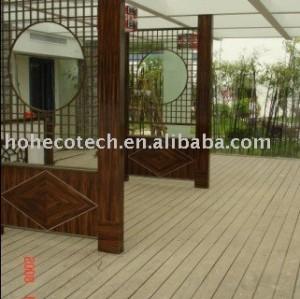 Wpc cubiertas al aire libre del piso - embalaje seguro del piso