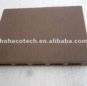 Decking creux extérieur de wpc facile d'installation (plancher de wpc/produits de loisirs de panneau/wpc mur de wpc)