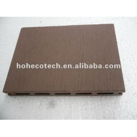Easy installation wpc outdoor hollow decking (wpc flooring/wpc wall panel/wpc leisure products)