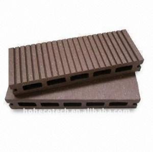 Nova ecofriendly material decking de wpc/placa de revestimento wpc placas