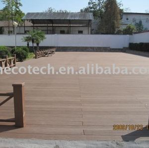 Compósitos de madeira plástica ( wpc ) piso