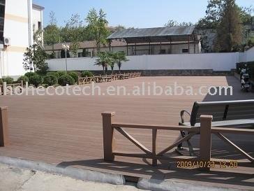 Parqueter en plastique en bois des composés (WPC)