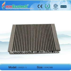 Le bois aiment le plancher extérieur (les matériaux de WPC)