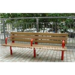 木製のプラスチック合成のベンチか椅子の屋外の余暇の椅子またはベンチ木ベンチ