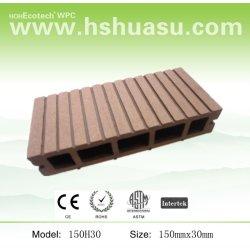 木製のプラスチック合成物WPC材料のプラスチックフロアーリング