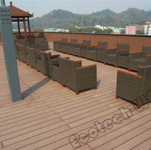 anti-corrosion outdoor wood and plastic composition