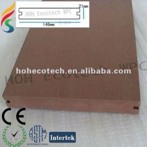 Composite decking/flooring-anti-fungus/wpc decking/composite deck/wood decking/plastic floor