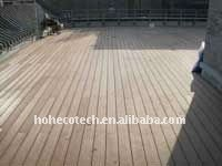 Plancher extérieur en bois COMPOSÉ de vinyle de conseil de decking/plancher