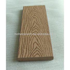 wood-plastic composite flooring