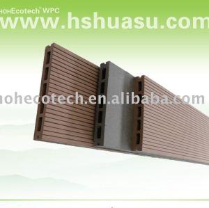 Bois/plastic lumber/platelage./composite decking de plancher conseil( ce, rohscertificat, astm.,iso9001,iso14001,intertek) decking bricolage