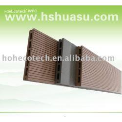 /木材プラスチック木材の/デッキ/フローリングコンポジットデッキボード( セリウム、 rohs、 astm、i so9001、i so14001、 インターテック) diyデッキ