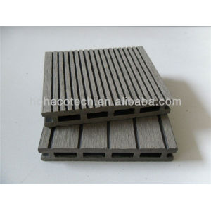 Anhui Ecotech WPC hollow outdoor decking 100*17mm CE Rohus ASTM ISO 9001 approved