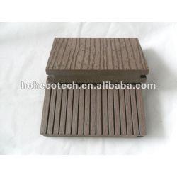溝がある純木の材木140x25mm屋外WPCの合成のdeckingかフロアーリング