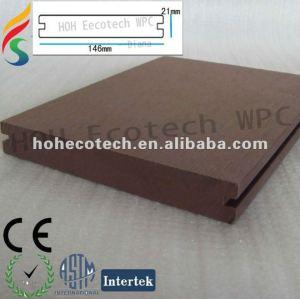 Wpc sintéticos solid decking projeto