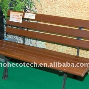OUTdoor leisure chairs/bench wpc bench wood bench(CE, ROHS, ASTM,ISO9001,ISO14001, Intertek)