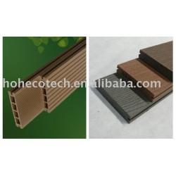 簡単にインストールできwpc屋外パティオの床木製/デッキ