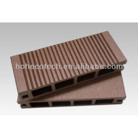 135*25mm superior quality hollow WPC- decking floor SIZE