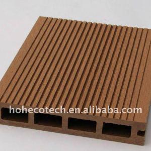 La garantía de calidad! Madera decking compuesto plástico/suelo cubiertas de plástico