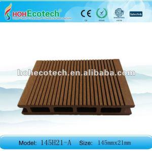 Bois vert de plancher de decking du matériau de construction WPC