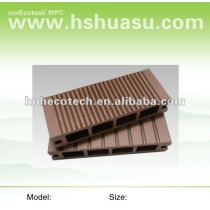 Wood plastic flooring tongue and groove WPC composite decking