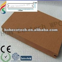 waterproof WPC decking composite decking Popular material