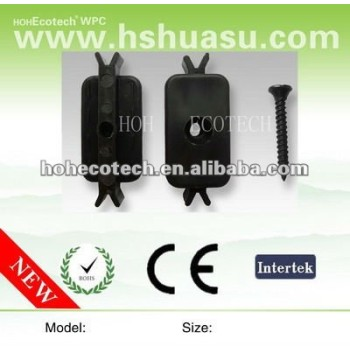 WPC decking accessories,plastic clips
