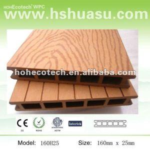 plancher de bois de construction de wpc/decking machinés composés du plancher WPC