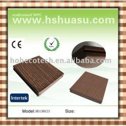 屋外の木製の合成のフロアーリング(セリウムROHS ASTM ISO9001)