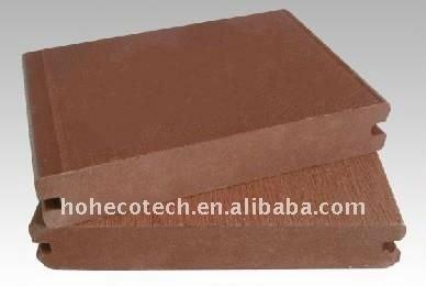 wpc ponte composito scanalato tavole esterni wpc legno decking composito di plastica