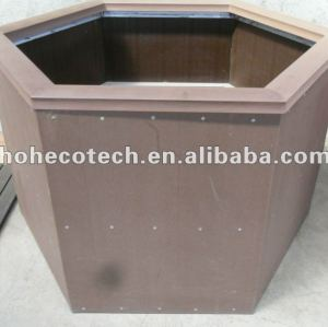 Eco-friendly good design wpc garden flower pot