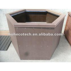 環境に優しくよい設計wpcの庭の植木鉢