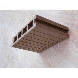 木製のプラスチックdeckingの床安全なパッキング床