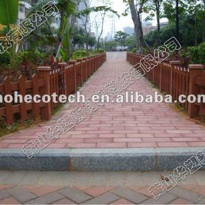 Huasu 2012 wpc cubiertas al aire libre, jardín wpc decking