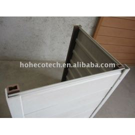 Easy installation composite wall panel/cladding-white