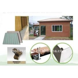 wood plastic composite wall siding