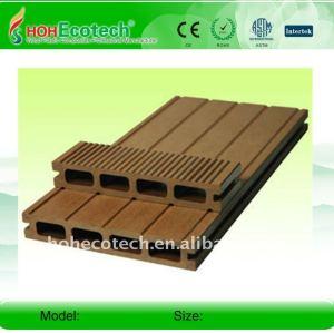 Composé composé en plastique en bois de decking de WPC/de decking wpc du plancher 150*25mm (CE, ROHS, ASTM, OIN 9001, OIN 14001, Intertek)