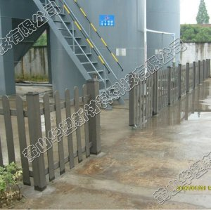 HUASU wpc project, wpc decking,wpc fencing