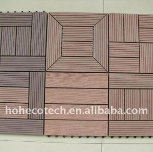 DIY différent modèle pour choisir le plancher en bois de plancher de la tuile WPC de wpc