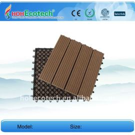 (CE ISO ROHS)popular wpc diy tile