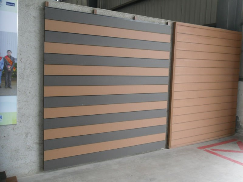 Waterproof Outdoor Easy Clean Wpc Wall Cladding 156s21