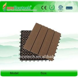 (CE ISO ROHS)popular wpc diy tile/outside