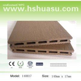 wpc plastic wood decking