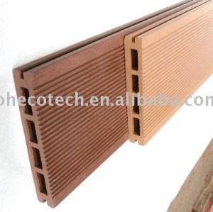 decking/plancher composés en plastique en bois