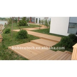 OUTdoor flooring decoration! wpc wood plastic composite decking/flooring