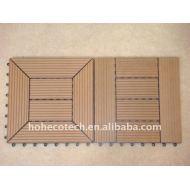 装飾的な材料に床を張る工場価格のwpcのタイルのwpcのdecking WPC