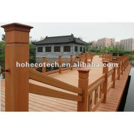 UV resistance wood plastic composite decking wpc floor for outdoor