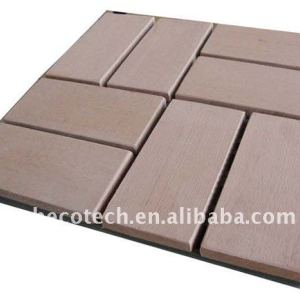 impermeabile piastrelle wpc wpc decking di wpc pavimentazione di wpc materiali da costruzione tegola wpc