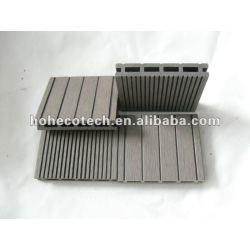 紙やすりで磨く表面100x17mm WPCの合成のdeckingか床タイル