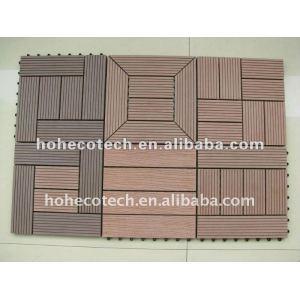 Outdoor wood look tile/interlocking outdoor cheap deck tiles